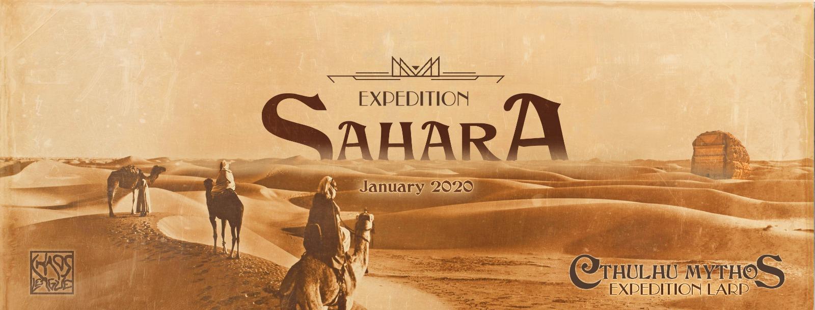 Larp – Sahara Expedition